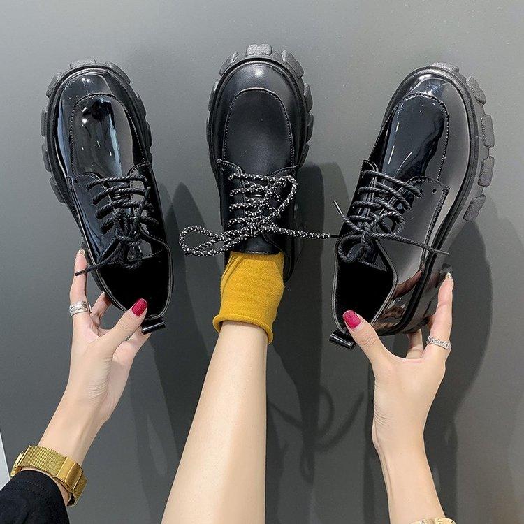Giày Da Nữ Thời Trang Hàn Quốc