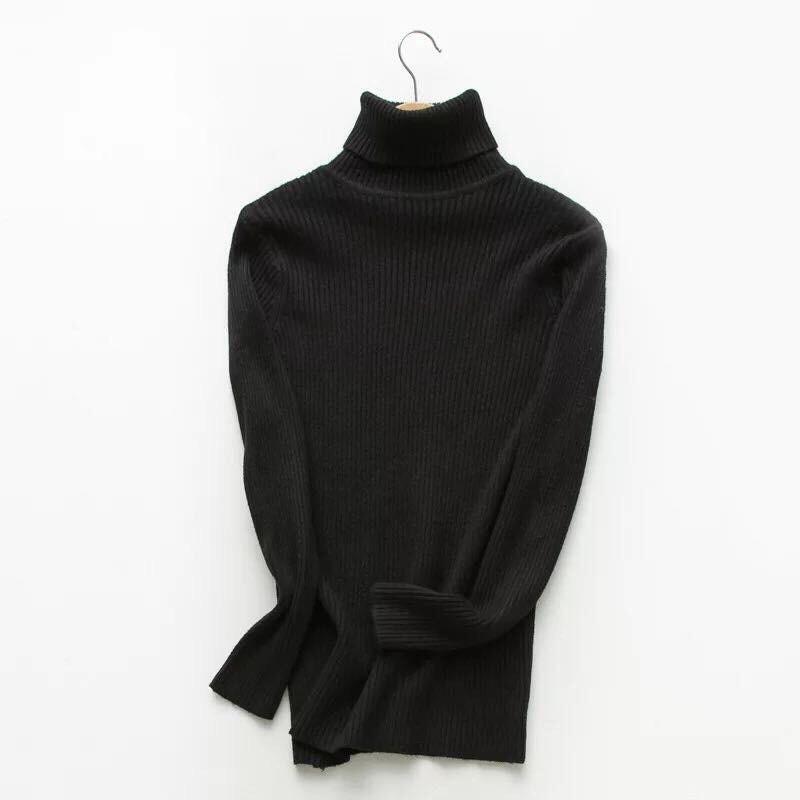 Áo len TƠ KÉO cổ lọ