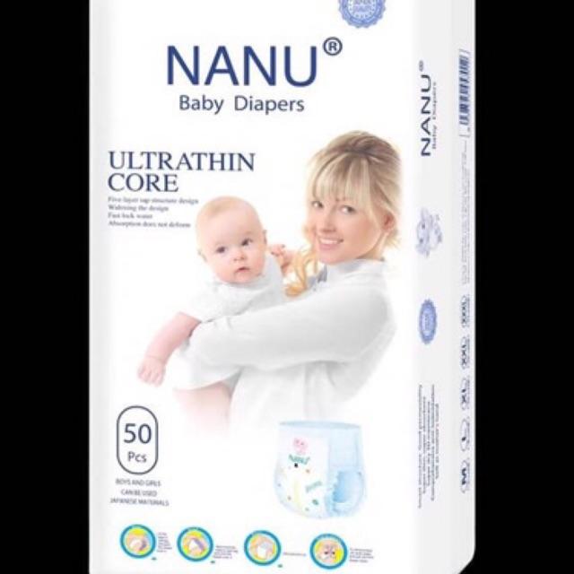 Tả quần Nanu baby M/L/XL/XXL/XXXL 50 miếng