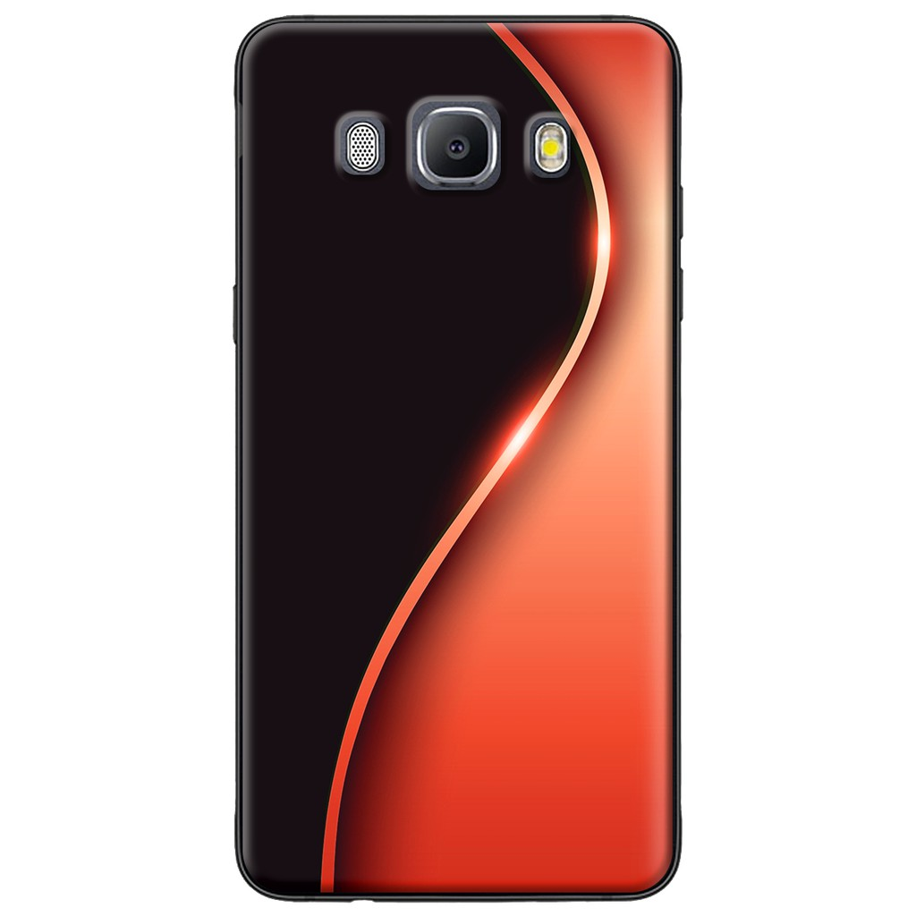 Ốp lưng Samsung J3,J5,J7 (2016), J2 Prime, G530 Đường cong màu đỏ