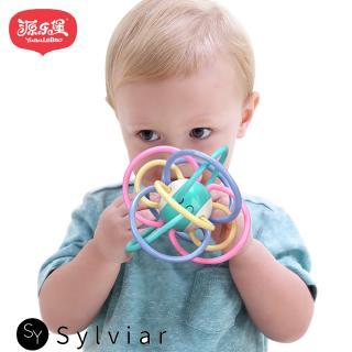 Newborn Manhattan Ball Baby Teether Handbell Baby Teethers Toys
