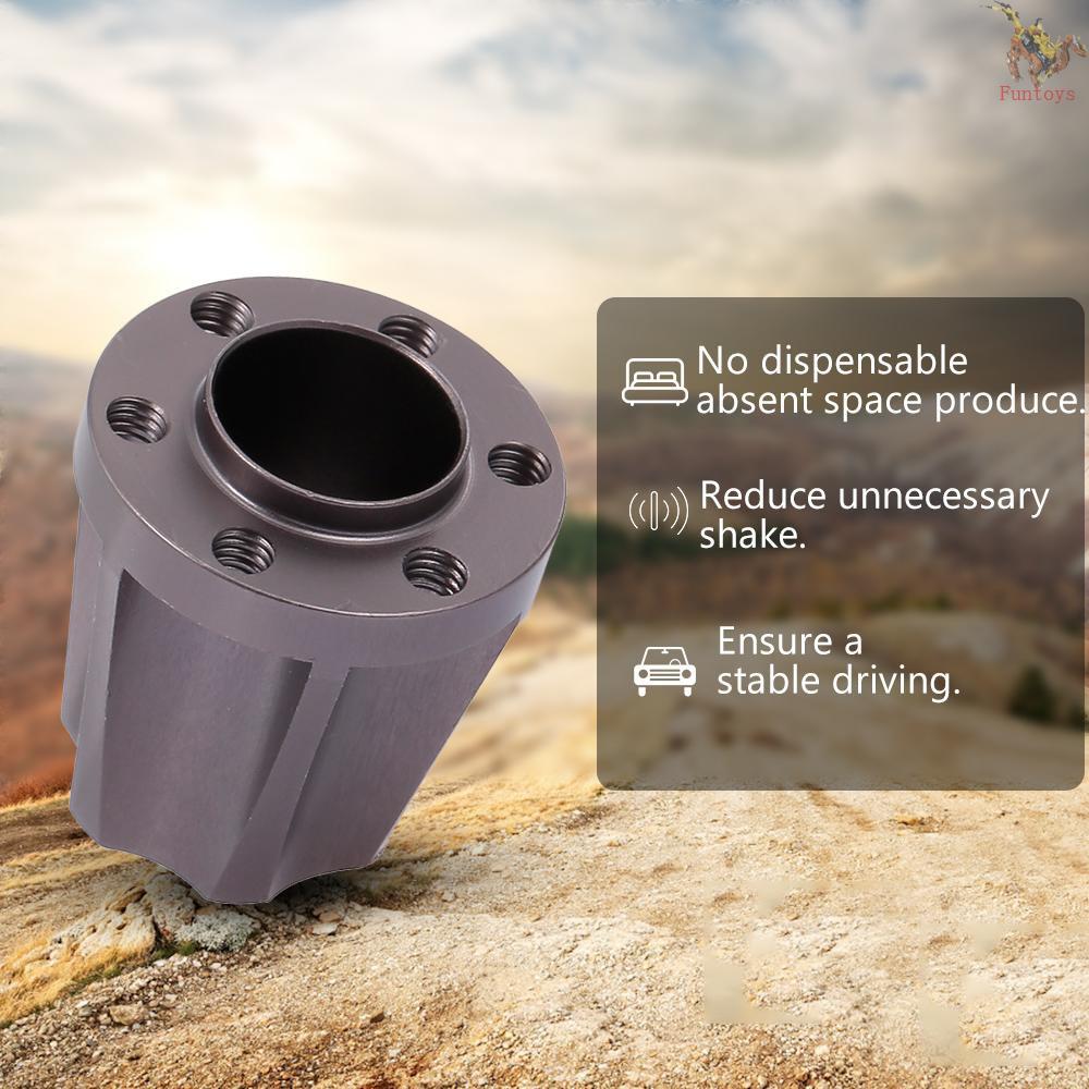 FUNTOYS 4Pcs 21mm Wheel Hex Hub Adapter for 1.9/2.2inch Wheel Rim 1/10 Axial SCX10 Traxxas TRX4 D90  RC Crawler