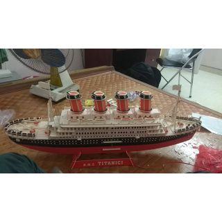 Đồ chơi mô hình lắp ghép bằng gỗ 3d tàu titanic