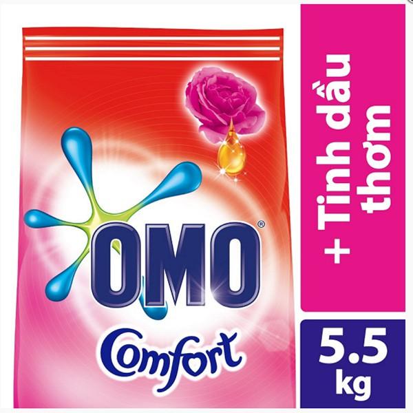 Bột Giặt Omo Tinh Dầu Diệu Kì 5.5kg