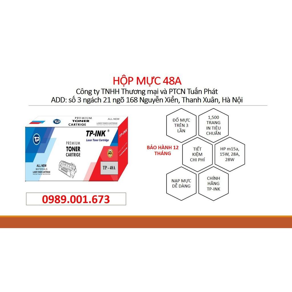 Hộp mực 48A cho máy in HP M15a, M15w, M28a, M28w,...