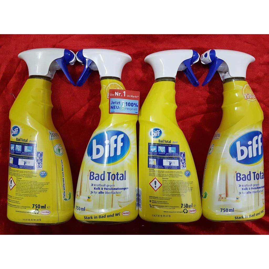 Dung dịch vệ sinh nhà tắm Biff Bad Total