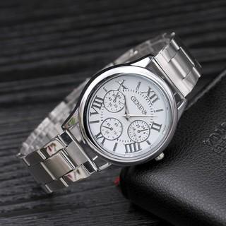 Đồng hồ nam nữ thời trang Geneva lịch lãm cực đẹp DH99 Cực Hot