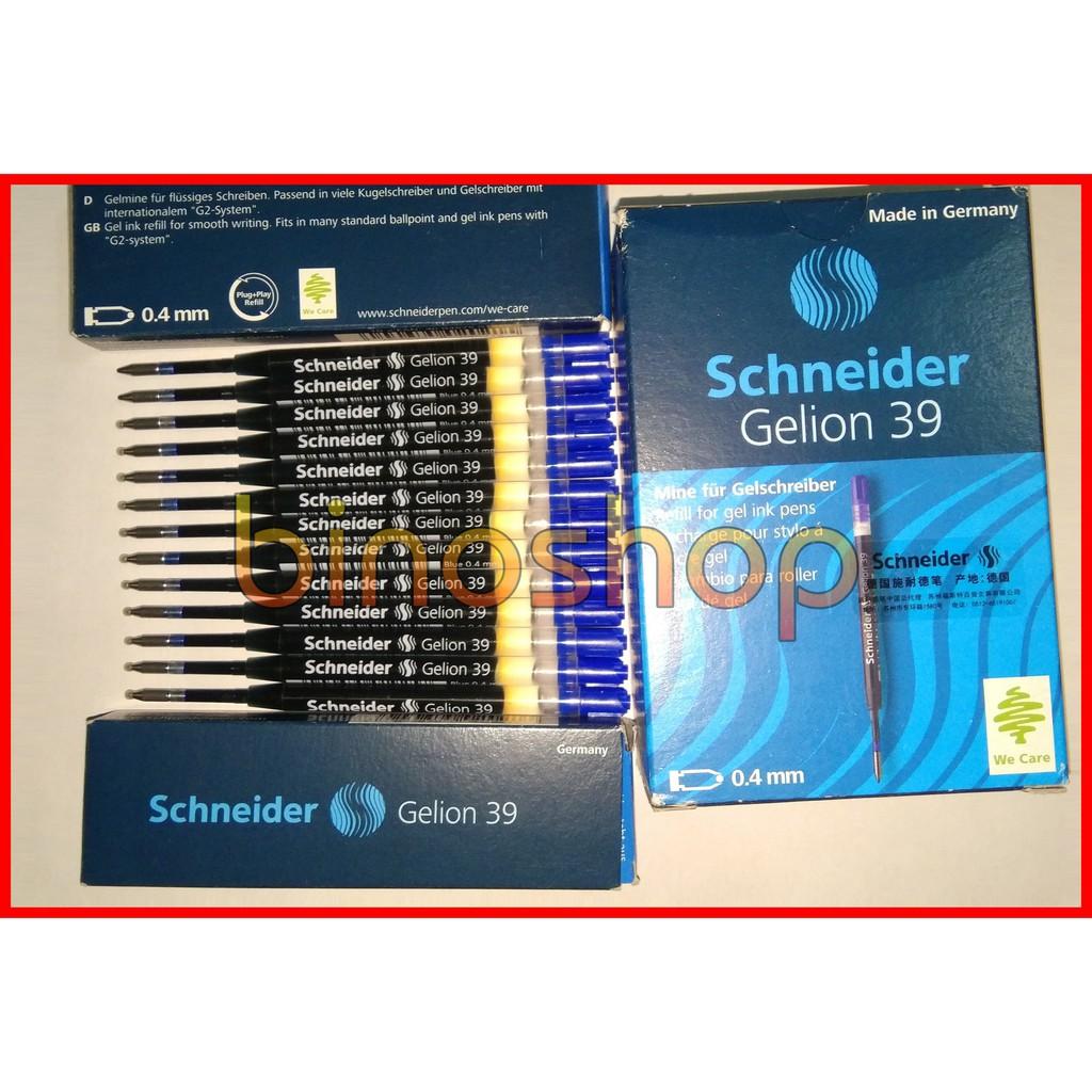 Ruột bút bi Xiaomi Mi Pen 2 xanh/ đỏ GELION 39 - Schneider (Đức)