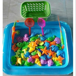 Bộ đồ chơi câu cá tại nhà cho bé
