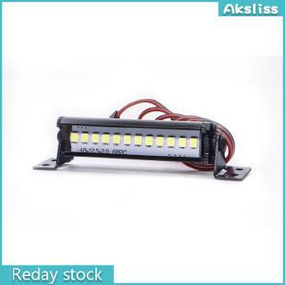 RC Rock Crawler LED Light Bar Spotlight Dome Simulation for Traxxas Trx-4 Trx4 Axial SCX10 90046 D90 Tamiya CC01 KM2 Body Shell
