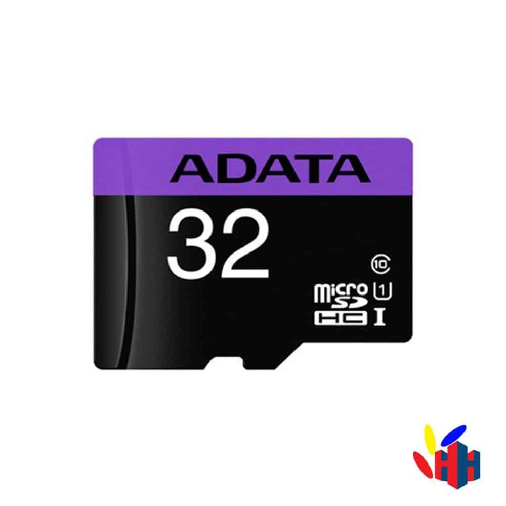 Thẻ Nhớ MicroSD 32GB ADATA Box Class10 + Adapter