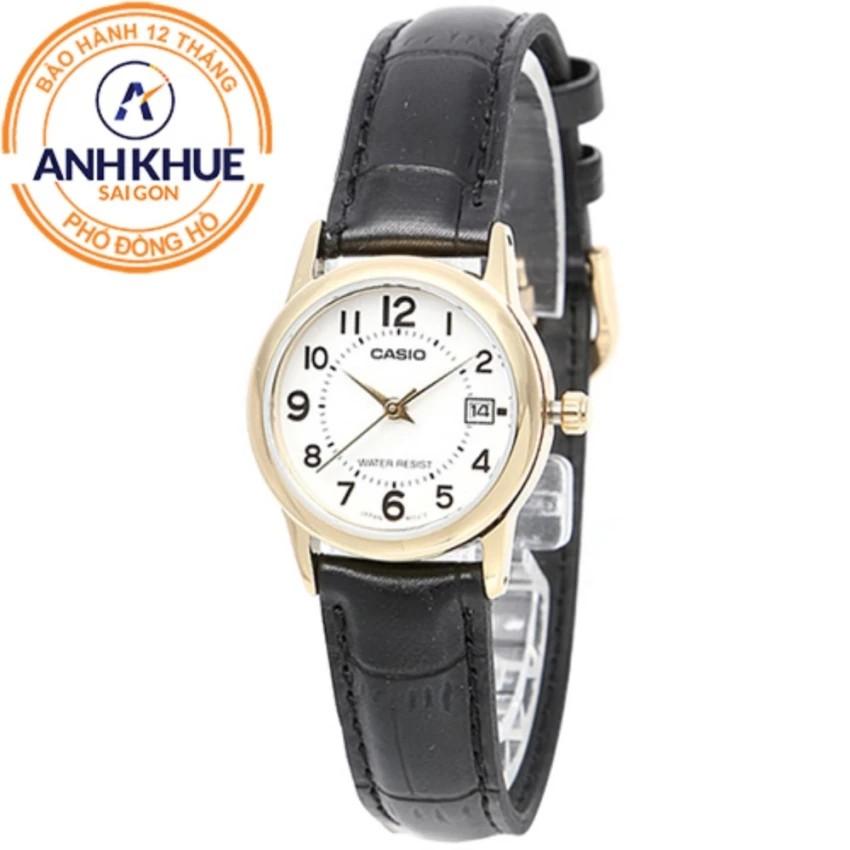 Đồng hồ nữ dây da Casio Anh Khuê LTP-V002GL-7BUDF - 3511372 , 891575051 , 322_891575051 , 713000 , Dong-ho-nu-day-da-Casio-Anh-Khue-LTP-V002GL-7BUDF-322_891575051 , shopee.vn , Đồng hồ nữ dây da Casio Anh Khuê LTP-V002GL-7BUDF