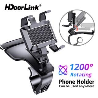HdoorLink Giá đỡ điện thoại đa năng trên ô tô kiểu mới Có Thể Xoay 1200 Độ Cho Xe Hơi