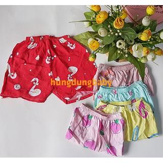Set 10 quần quần đùi lanh