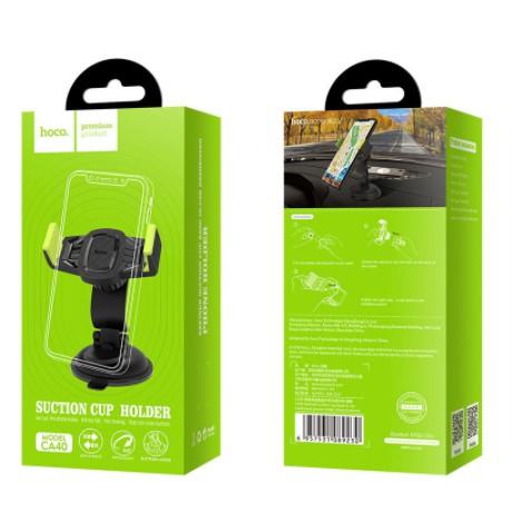 Giá đỡ điện thoại trên ô tô xe hơi Hoco CA40 - kẹp điện thoại trên oto xe hơi chính hãng