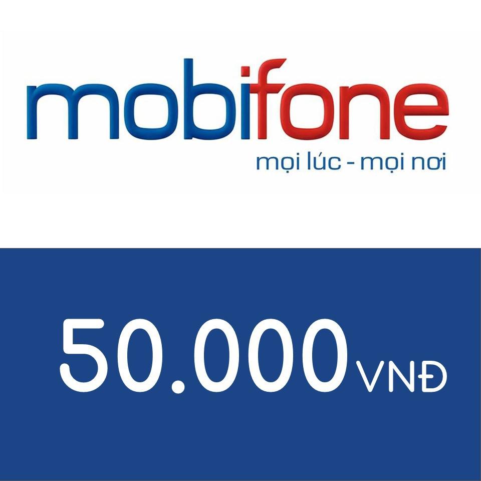 Nạp điện thoại Mobifone 50K