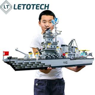 [Mã TOYFSS7 hoàn 20K xu đơn 50K] Bộ LEGO Xếp Hình Tàu Chiến Hộ Vệ Tên Lửa KHỔNG LỒ 970 chi tiết