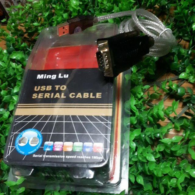 Cáp usb to com rs232 Ming lu ML5068