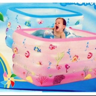 Bể bơi 4 tầng 140-90-75 tặng phao đỡ cổ or bơm