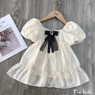 váy trắng công chúa siêu xinh siêu