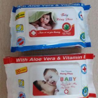 Combo 4 gói giấy ướt BABY Việt Mỹ