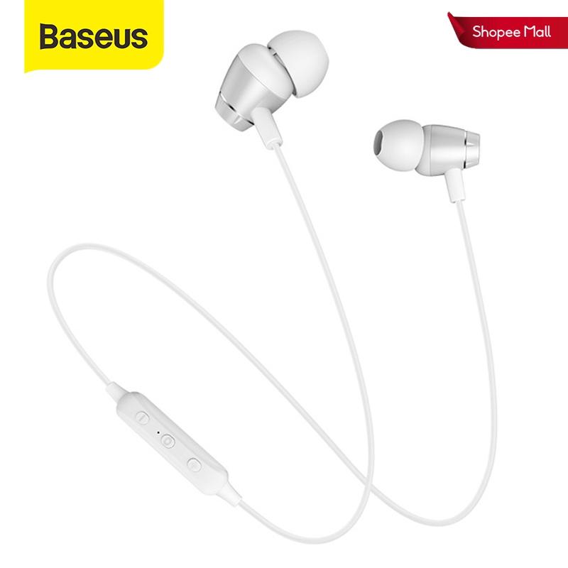 Tai nghe bluetooth Baseus S09 không dây 5.0 IPX5 chống nước có micro 3D