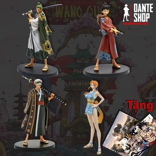 Mô hình Figure One Piece Luffy - Zoro DXF Wano FullBox thumbnail