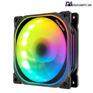 Quạt Tản Nhiệt, Fan Led RGB Coolmoon U1 Led RGB - Đồng Bộ Hub thumbnail
