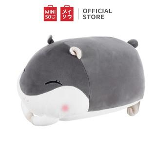 Hình ảnh Thú bông Miniso hình con Hamster nằm (Giao màu ngẫu nhiên) - Hàng chính hãng-1