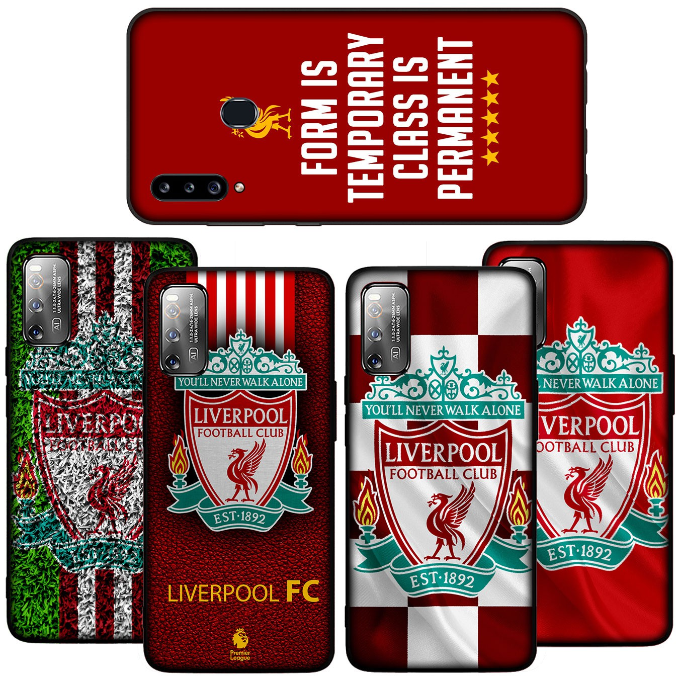 Ốp Điện Thoại Silicon Mềm In Logo Liverpool Cho Samsung Galaxy A11 A10 A20 A30 A50 A10s A20s A30s A50s A51 A71