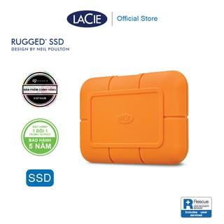 Ổ Cứng Di Động SSD Lacie Rugged 500GB, 1TB, 2TB USB-C, Thunderbolt 3 + Gói cứu dữ liệu thumbnail
