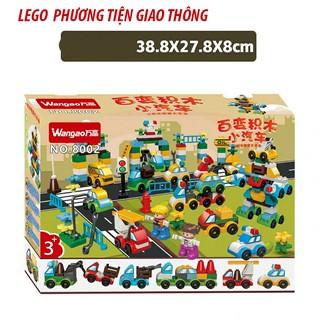 Lắp ráp Lego phương tiện giao thông – Wangao 8002
