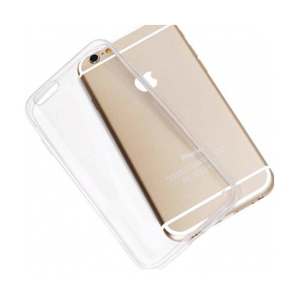 Ốp lưng chống sốc cho Iphone 6, 6S - Nhưa silicon trong suốt