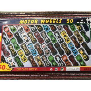 Set 50 mô hình ô tô chuẩn hàng loại 1, ô tô chắc chắn