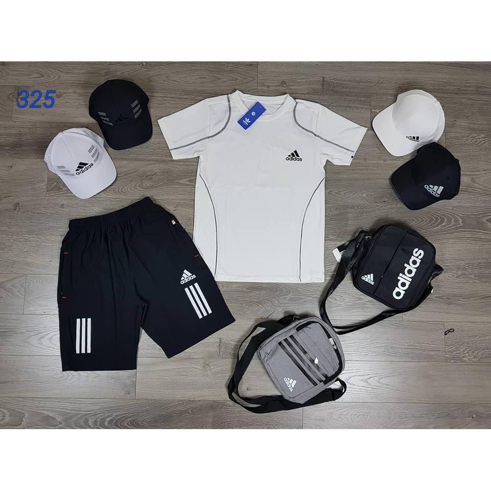 (FREESHIP MUA 2B) Bộ quần áo nam mùa hè - Bộ thể thao