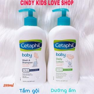 Sữa Tắm Baby Dưỡng ẩm Cetaphil 399ml dịu nhẹ cho da bé thumbnail