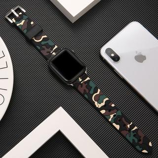 Dây đeo thay thế bằng silicone mềm nhiều màu sắc 40mm 44mm 42mm 38mm dành cho đồng hồ Apple Watch Series1 2 3 4 5 SE 6