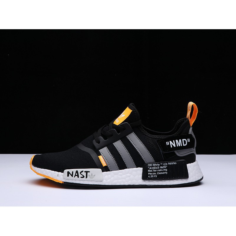superbrand* Ready Adidas NMD knit fly line Off WHITE joint