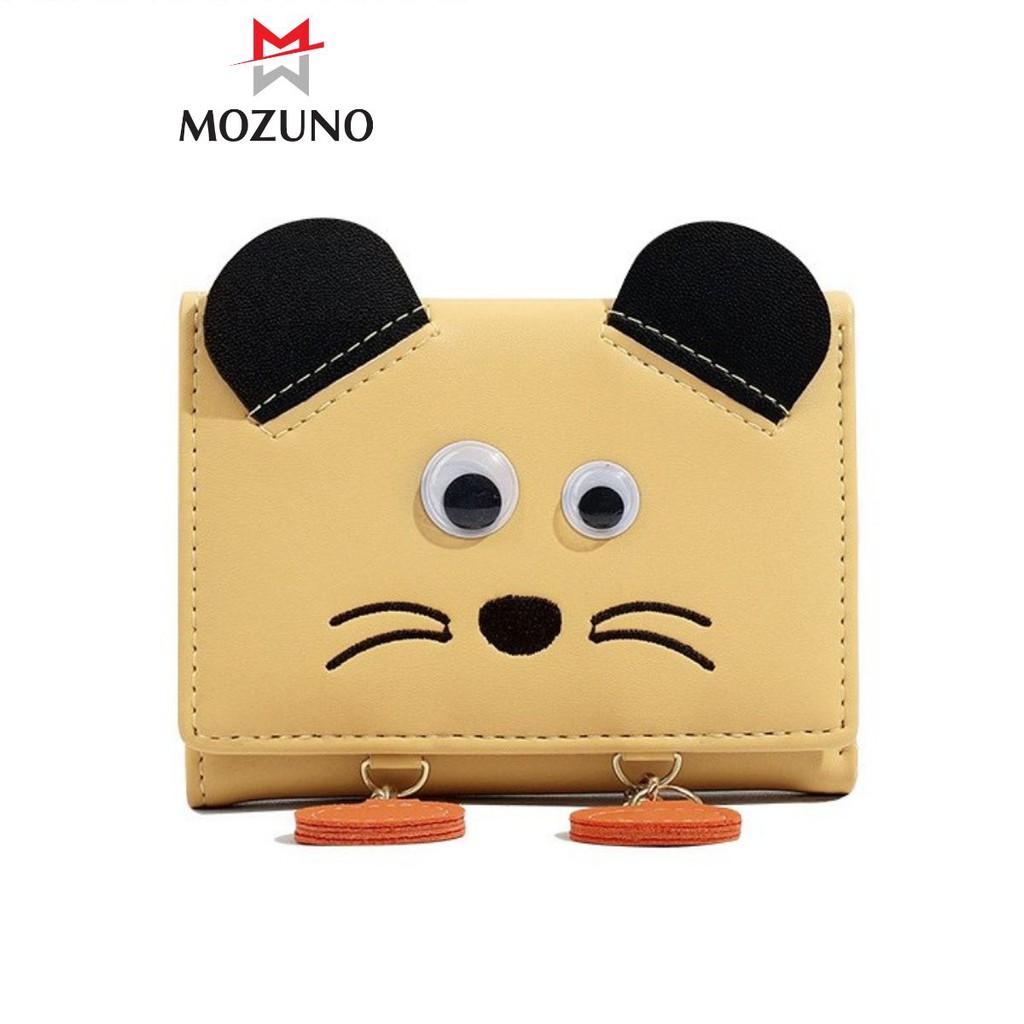 Ví Nữ Mini Cầm Tay Chính Hãng TAOMICMIC Hoạ Tiết Con Vật Nghộ Nghĩnh Cute Cực Xinh Siêu Hót TM15 - Mozuno