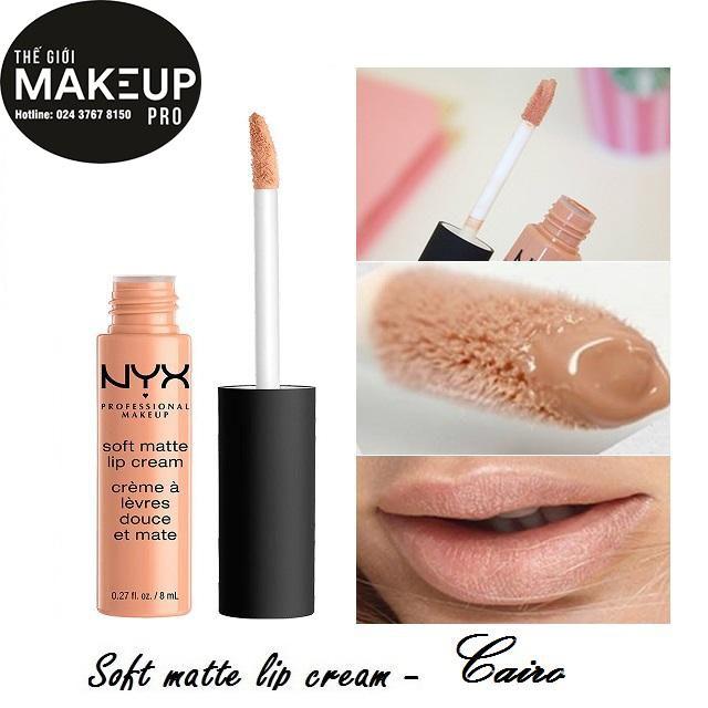 Son kem NYX Soft Matte Lip Cream Cairo SMLC16 - 3488981 , 669563993 , 322_669563993 , 230000 , Son-kem-NYX-Soft-Matte-Lip-Cream-Cairo-SMLC16-322_669563993 , shopee.vn , Son kem NYX Soft Matte Lip Cream Cairo SMLC16