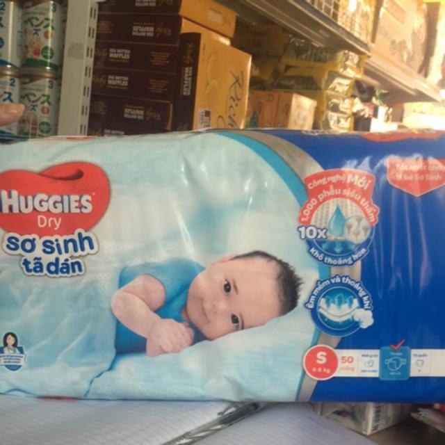 Bỉm Huggies dán S50 miếng S dành cho trẻ (4-8kg) - 3332300 , 687953791 , 322_687953791 , 145000 , Bim-Huggies-dan-S50-mieng-S-danh-cho-tre-4-8kg-322_687953791 , shopee.vn , Bỉm Huggies dán S50 miếng S dành cho trẻ (4-8kg)