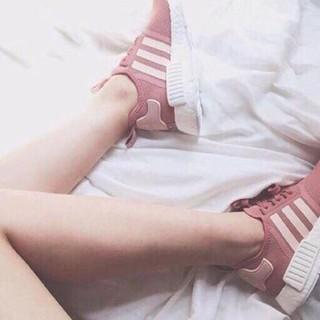 [FullBox] Giày NMD Hồng Trắng Hot
