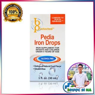 Bổ Sung Sắt Cho Bé Pedia Iron Drops 30ml