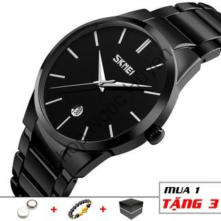Đồng hồ nam thời trang classic tinh tế chống nước chống xước SKMEI SM11 - Shop Ngọc Huyền