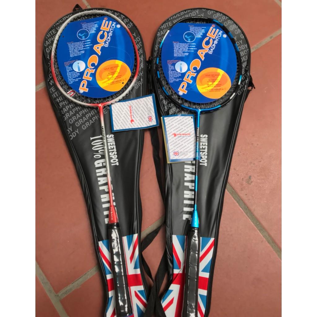 [HÀNG CHUẨN] Bộ 2 cây Vợt cầu lông Proace giá rẻ tập luyện - dùng cho HS - SV và gia đình