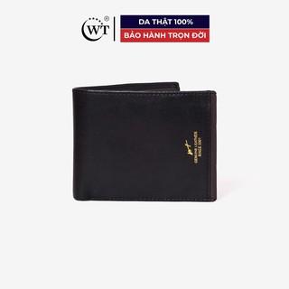 [Mã FAMALLT5 giảm 15% đơn 150K] Ví Da Nam Da Bò Cao Cấp Màu Đen WT Leather 0849.2 thumbnail