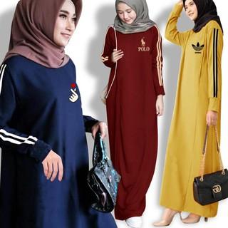 Bonita Đầm Maxi Dài Thêu Họa Tiết Cho Phụ Nữ Hồi Giáo