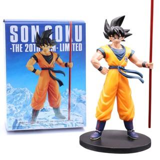 [Mã TOYOCT hoàn 20K xu đơn 50K] Mô hình Figure Son Goku Dragon Ball cao 27CM cực đẹp – Phiên bản kỷ niệm 20th