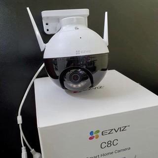 [Mã ELMSBC giảm 8% đơn 300K] Camera Wifi Ezviz C8C 1080P FHD, Camera ngoài trời có khả năng xoay, Tích hợp AI