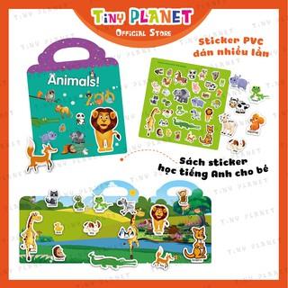 Bộ dán sticker thông minh sử dụng nhiều lần giúp bé vui học Tiếng Anh - Học liệu giáo dục sớm cho bé